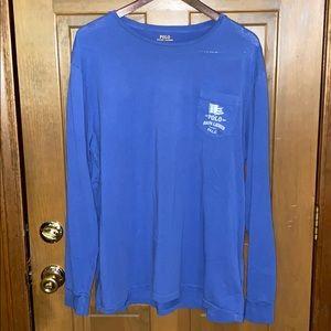 Polo Ralph Lauren Marine Long Sleeve T Shirt